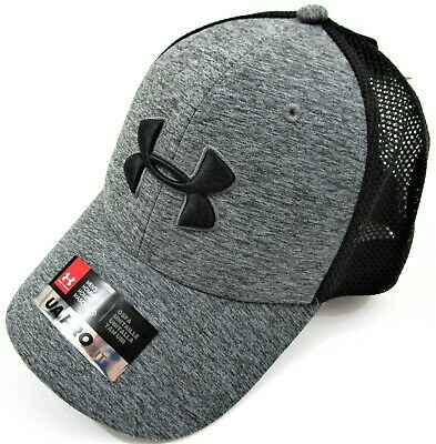3181c6e1ac2 Under Armour HeatGear® Mens  Snapback Pro Fit Hat Black Twist Design OSFA  NWT