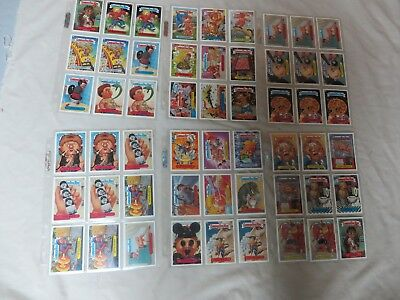 45 Vintage 2003 Garbage Pail Kids Trading Cards,same Card Differ Names,stickers