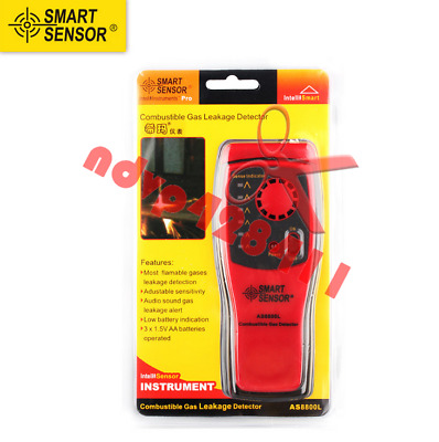 AS8800L Combustible Gas Detector Gas Leakage Location Determine Tester Tool
