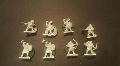 DWARF WARRIORS (8)- Lord Of The Rings Metal Figure(s)