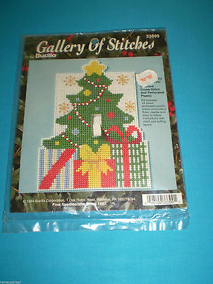 Bucilla Counted Cross Stitch Country Delight Christmas Tree Skirt