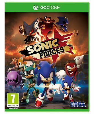 Sonic Forces Xbox One Game.