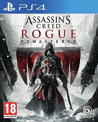Assassins Creed Rogue HD Sony Playstation PS4 Game 18+ Years