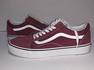 7590730045 VANS Old Skool Dry Rose True White Laced Shoes Size 9.5 US NEW! VN0A38G1U64