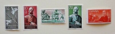 SAHARA SPAIN 1x1956, 3x 1958 and 1x 1961 STAMPS w/ VARYING VALUE ALL MLH🌟GREAT