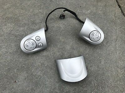 BMW MINI COOPER S JCW STEERING WHEEL MULTIFUNCTION BUTTONS R55 R56 R57 Silver