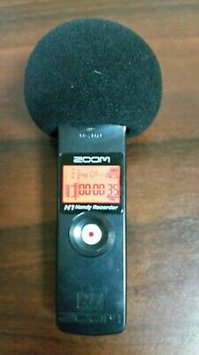 Zoom H1 Handheld PCM Portable Field Audio Sound Recorder