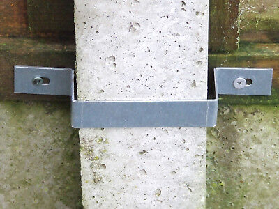 Fence Panel Bundle - Security, Anti Rattling, Anti Bending Clips for 1 Panel