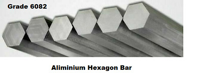 Cheap - Aluminium Hexagon Bar - Many Diameters And Lengths