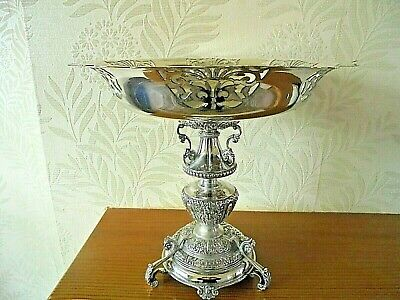 Antique Silver Plated  Tazza Centrepiece