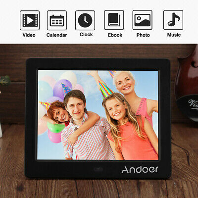 "8"" LED HD Electronic Digital Photo Frame Picture Photography MP3 MP4 Player AU"
