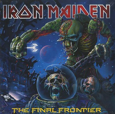 Iron Maiden The Final Frontier Double Vinyle Lp 180 Grammes Neuf