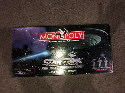 Star Trek: The Next Generation Monopoly (Collector's Edition). Parker Brothers