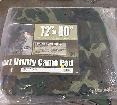 72 X 80 Sport Utility Camo Pad - Moving Pad