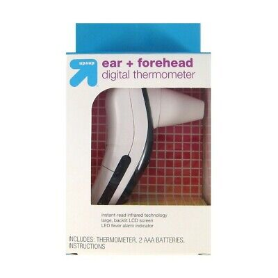 Up&Up Ear & Forehead Digital Thermometer