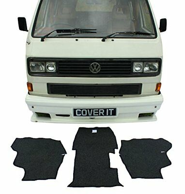 VW t25 Carpet Sets Rubber Backed Mats Camper Van 3 Piece Transporter Cab