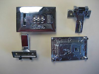 Lock Latch for luggage/case/instrument/briefcase. Repair or new app. 1 pair