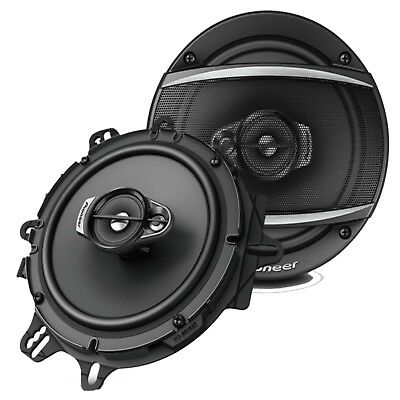 NEW Pioneer TS-A1670F 6.5 inch 16.5cm 3way Car Speakers Door Shelf 640 Watts Set
