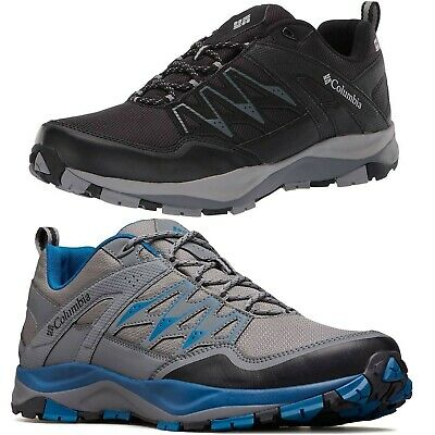 93f3dbea54b NEW COLUMBIA MEN'S Wayfinder Outdry Waterproof Lace-Up Hiking Shoes Sneakers