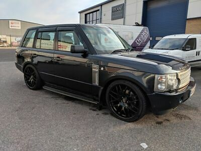 SUBTLY MODIFIED RANGE Rover Vogue 2002 (Transfer Box Stuck In Neutral)