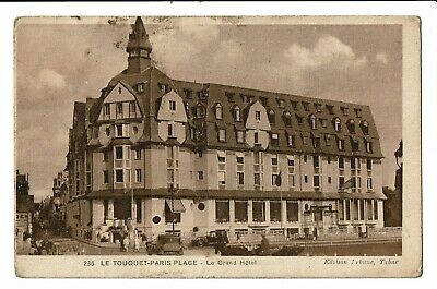 CPA-Carte postale France   FRANCE - Le Touquet-Paris-Plage - Le Grand Hôtel-