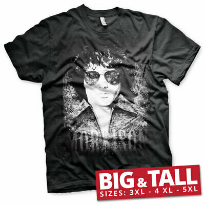 Officially Licensed Jim Morrison - America 3XL, 4XL, 5XL Men's T-Shirt