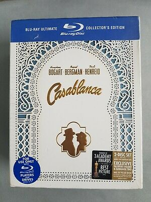 Casablanca [Blu-ray] [2008] [US Import] -  CD H2VG The Fast Free Shipping sealed