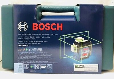 Bosch GLL3-330CG - 360 Degree GREEN Laser Level Replacing GLL3-80 Rechargable