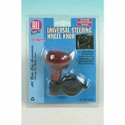 Car Truck Taxi Steering Wheel Assister Aid Universal Spinner Ball Knob Wood