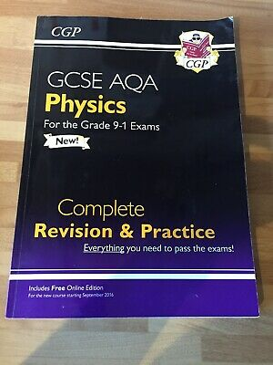 GCSE AQA Physics, Chemistry And Biology 9-1 Complete Revision And Practice