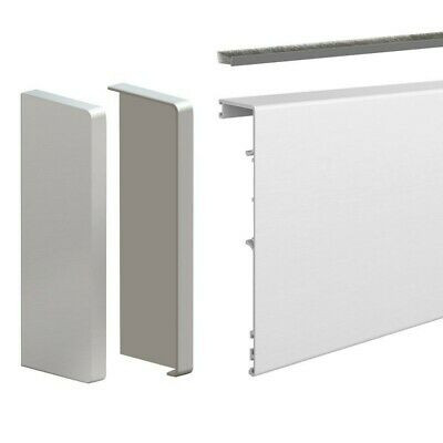 79-inch clip-on fascia cover with end caps and brush seal - For SLID'UP 190