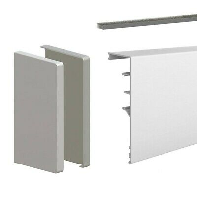 79-inch clip-on fascia cover with end caps and brush seal - For SLID'UP 160, 170