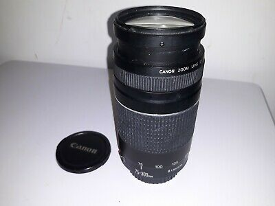 Canon EF 75-300mm F/4.0-5.6  III EF  Lens For film and Digital SLR'S
