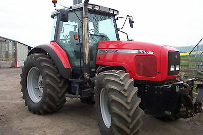 Massey Ferguson Tractor Workshop Manuals 8200 Series