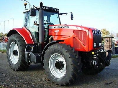 Massey Ferguson Tractor Workshop Manuals 8400 Series