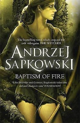 Baptism of Fire by Andrzej Sapkowski THE WITCHER book Series NEW FREE POSTAGE
