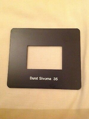 Durst Sivoma 35 Photography Darkroom Enlarger Mask Mint Condition
