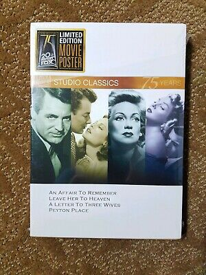 An Affair To Remember / Leave Her To Heaven: Studio Classics (DVD) NEW SEALED