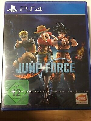 Jump Force Ps4 OVP In Folie