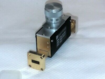 DucommunCPL-42-02 (WR-42) 33 to 50 GHz Waveguide Phase Shifter GOLD PLATED!
