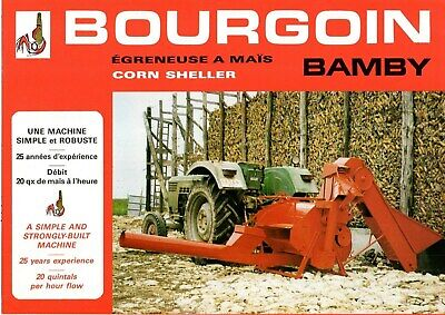 F-Prospectus Tracteur Machines Bourgoin Bamby