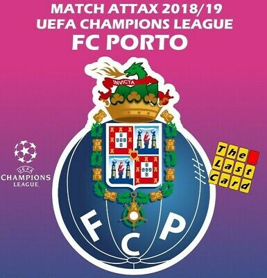 Match Attax Uefa Champions League 2018/19 Fc Porto Individual Cards