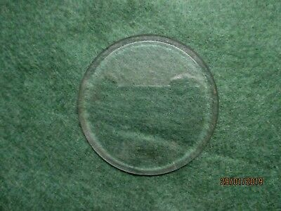 Round Bevelled Clock Glass ( Carriage Clock ? )