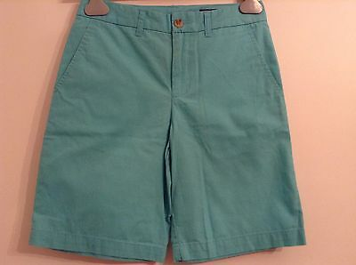 BNWT 100% Auth Ralph Lauren Boys Light Blue Chinos Shorts With Pink Pony. 12 Yrs