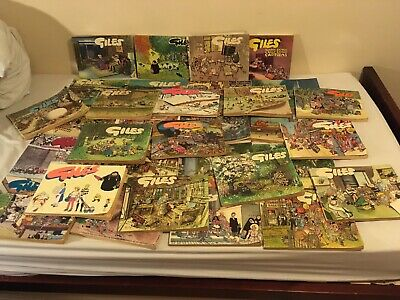Big bundle Of Giles Annuals Several Years READ DISCRIPTION