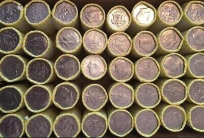 1 Unsearched, Bank Sealed Half Dollar Roll