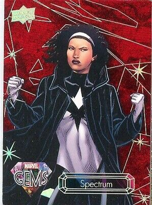 2016 Upper Deck Marvel Gems Ruby Parallel 23 Wasp The Avengers 29/99 MINT! RARE!