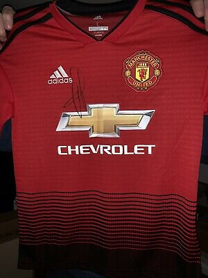 f7724c07d GENUINE MAN UTD Signed Shirt Michael Carrick Manchester United AIG ...