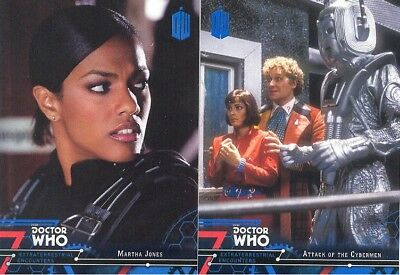 Doctor Who Extraterrestrial Encounters Blue Parallel 2 Matching Number Lot 17/99