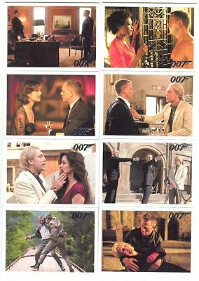 2015 James Bond Archives Skyfall Expansion Set Of 14 Cards! Dangerous Liaisons!